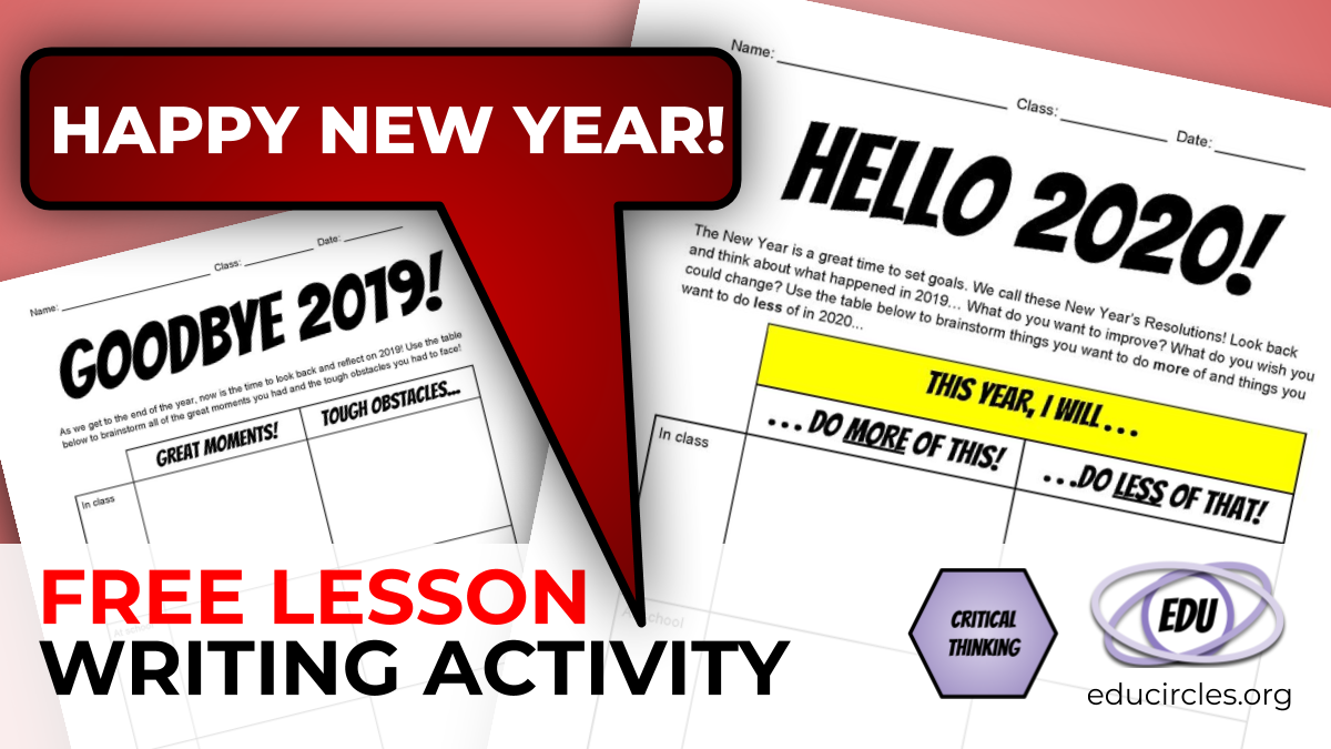 FREE NEW YEAR'S RESOLUTION 2020 Writing Activity / Worksheet New Years Newsletter Template on new years graphic design, new years email template, new years calendar, new years flyer template, new year s newsletter, new years logo, new years menu template, new year s templates, new years powerpoint template, happy new year template, new years program template, new year newsletter examples, new years postcard template, new years hours template, new years poster template, chinese new year template, new years business,